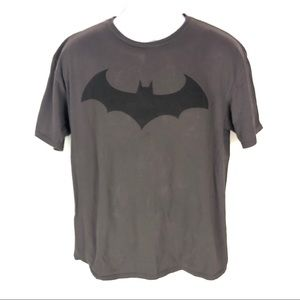 Batman Mens Gray T-shirt XL